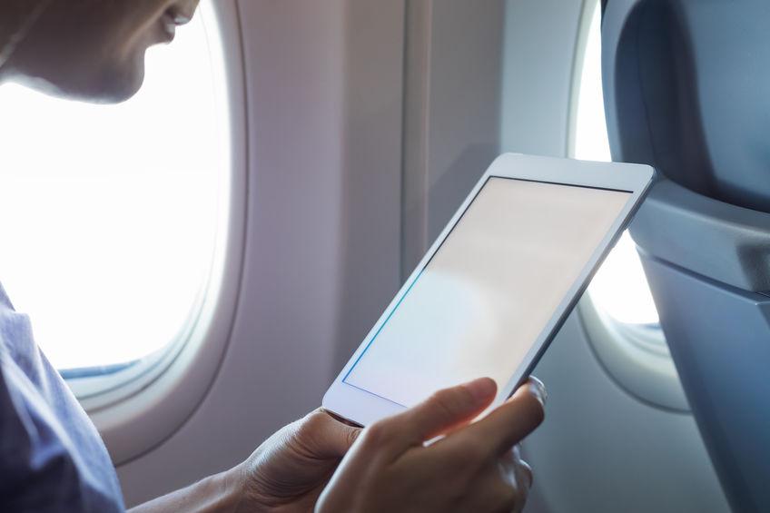 leyendo en el vuelo