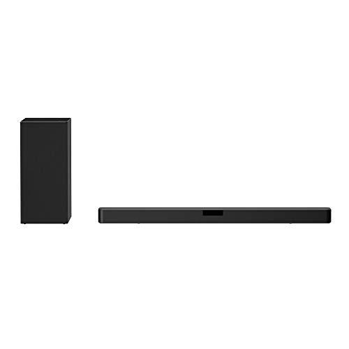 LG SN5Y 2.1 ch 400W High Res Audio Sound Bar con DTS Virtual:X, Negro