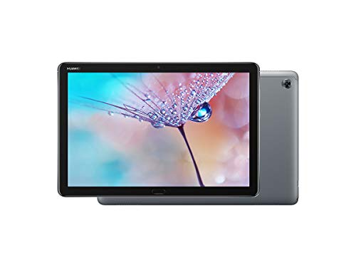 Huawei MediaPad M5 Lite, Tablet Wi-Fi, 10.1 Inches, Mediatek 2.36 GHz, 4 GB + 64 GB, Android 8.0 Oreo+Emui 8.0, Color Gris