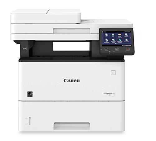 Canon D1620 Impresora Multifuncional Laser (20000 páginas por Mes, 45 ppm, 600 x 600 dpi, 1 GB), Color Negro/Blanco