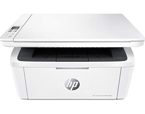 HP impresora multifunción LaserJet Pro M28w, 19 ppm de impresión monocolor, 600 x 600 dpi Impresión, dúplex impresión manual, 150 hojas entrada, LAN inalámbrica