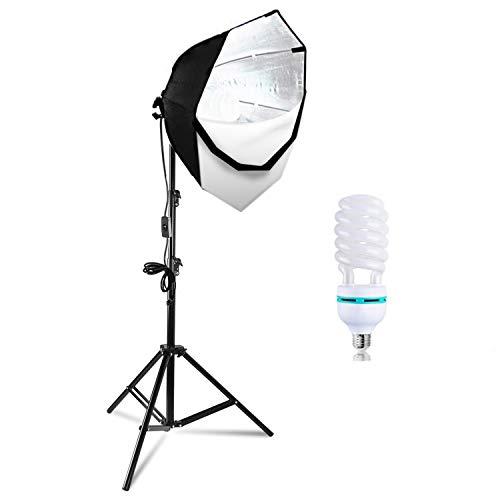 LimoStudio Fotografía Video Estudio Continuo Softbox Ventana de Iluminación Kit con Foto CFL 105 V Foco, AGG702