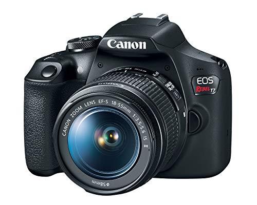 Canon EOS Rebel T7 18-55mm f/3.5-5.6 is II Kit (Versión Norteamericana)
