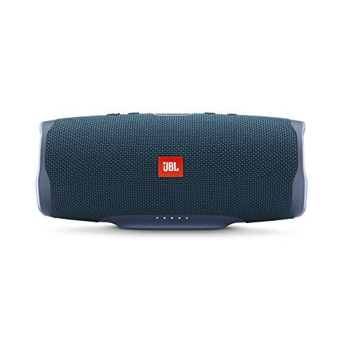 JBL Charge 4 - Altavoz inalámbrico portátil impermeable con Bluetooth, color azul