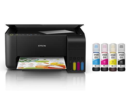 Epson Multifuncional Ecotank L3150, tanque de tinta a color para Hogar, Wi-Fi Direct