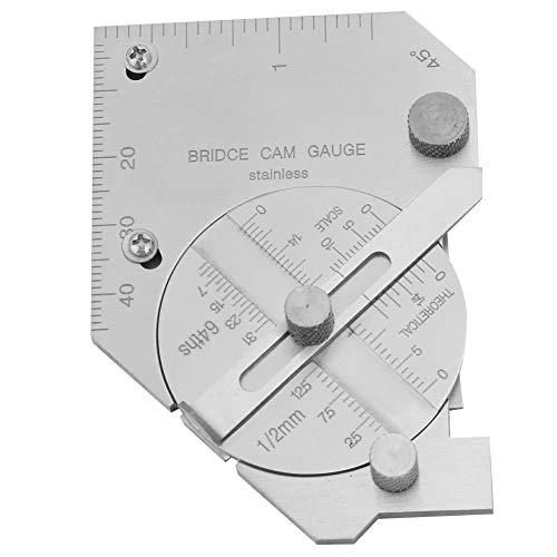 Boaby Bridge Cam Welding Gauge Weld Seam Filete Pit Undercut Inspection Herramienta de inspección