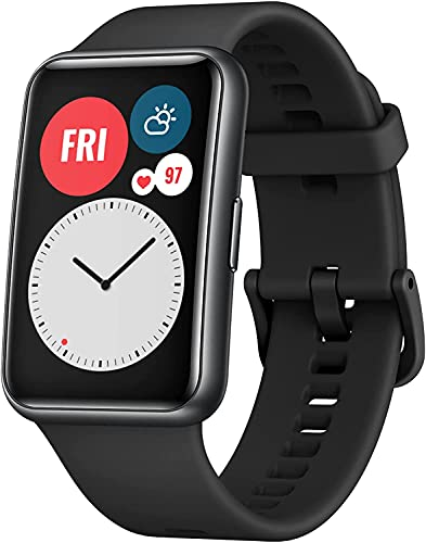HUAWEI Smartwatch Watch Fit, Touch, Bluetooth 5.0, Android/iOS, Negro