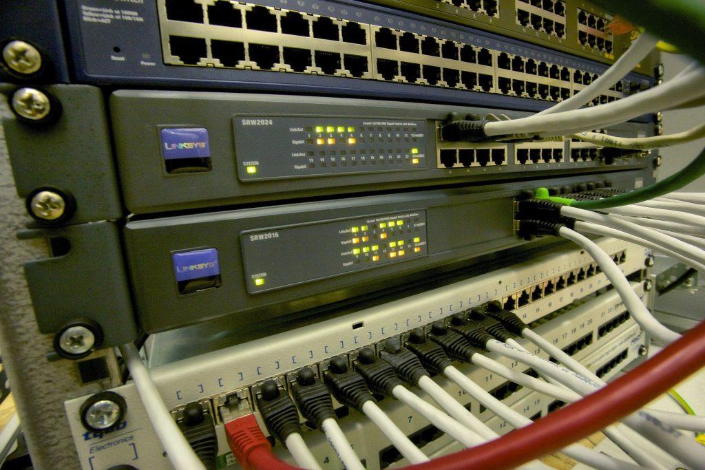 Vista de un servidor