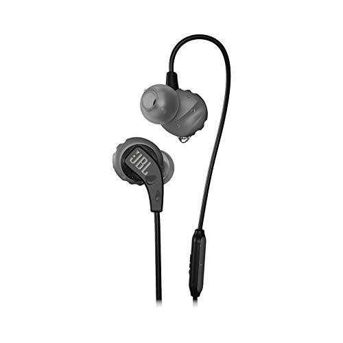 JBL Endurance Run - Auriculares in-Ear Deportivos, Color Negro