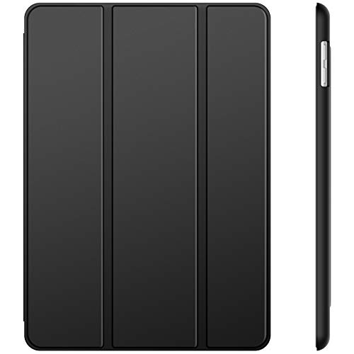 JETech Funda Compatible con iPad (9,7 Pulgadas, 2018/2017 Modelo, 6ª / 5ª generación), Carcasa con Auto-Sueño/Estela (Negro)