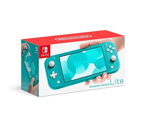 Nintendo Switch Lite - Edición Estándar - Azul Turquesa - Standard Edition