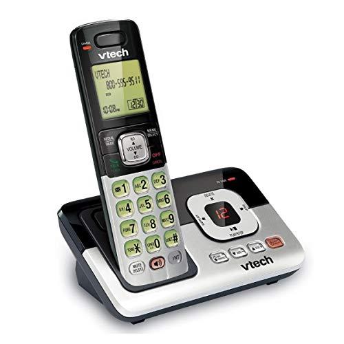 Vtech CS6829 DECT 6,0 sistema de teléfono inalámbrico expansible con identificación de llamada y sistema de contestadora Digital