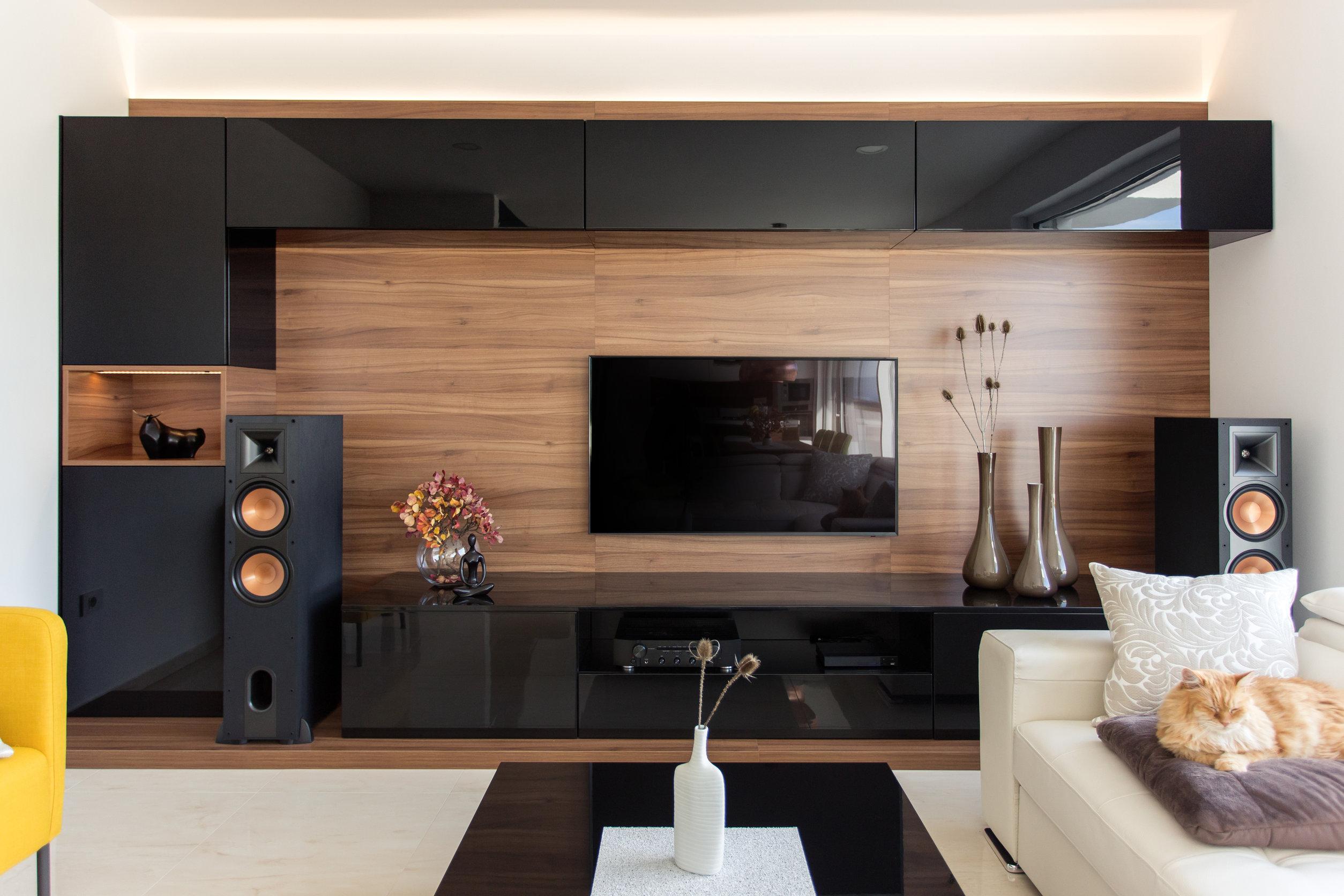 Living room moderno