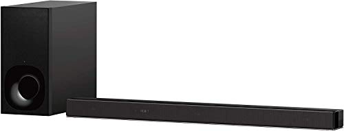 Sony Barra de Sonido Bluetooth HT-Z9F, WiFi, Dolby Atmos/DTS:X con Vertical Surround Engine, compatibible con 4K HDR