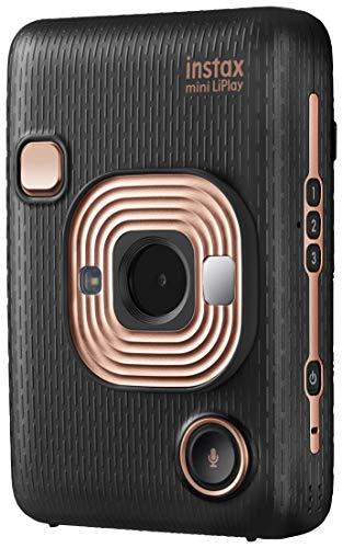 Fujifilm instax mini LiPlay Negra - Cámara instantane & impresora para Smartphone