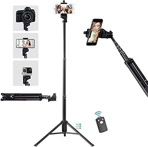 Eocean Palo Selfie Trípode con Bluetooth Remoto, 54