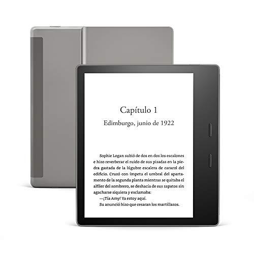 E-reader Kindle Oasis, ahora con luz cálida ajustable, 8 GB Wifi, 10ª generación - 2019