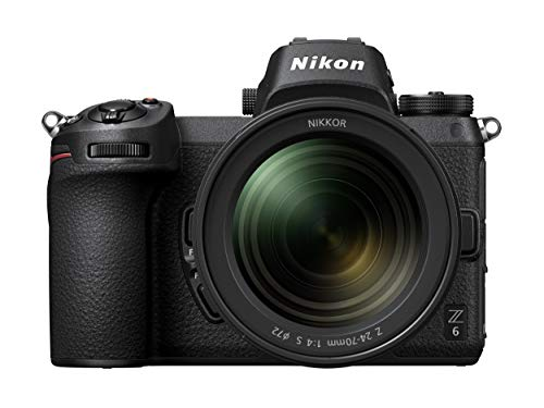 Nikon Z6 Kit Lente F/4S, Wi-Fi, Bluetooth, 24-70 mm, color Negro