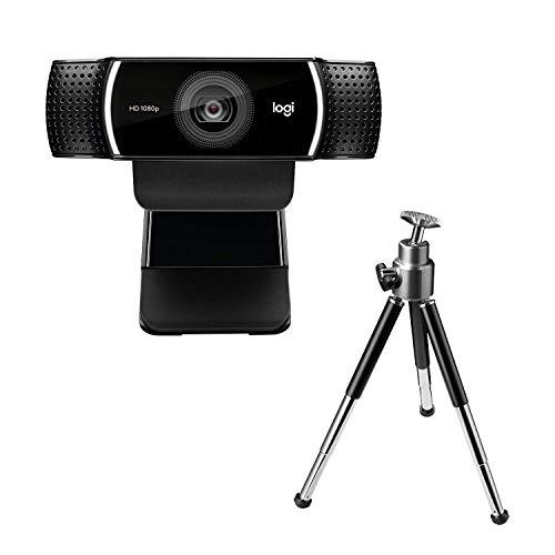 Logitech - C922 - Cámara Web Full HD Diseñada para Streaming - Negro