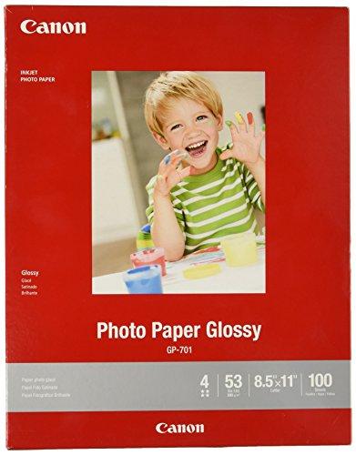 Canon GP-701 LTR 100SH GP-701 LTR Papel fotográfico brillante (100 hojas/paquete)