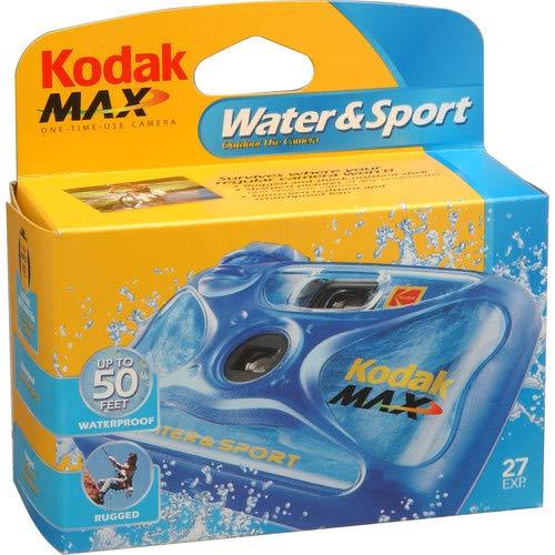 Kodak sumergible fin de cámaras desechables con excelente rendimiento de alta calidad