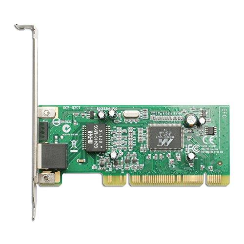 D-Link DGE-530T Interno Ethernet 2000Mbit/s adaptador y tarjeta de red - Accesorio de red (Interno, Alámbrico, PCI, Ethernet, 2000 Mbit/s, Verde)