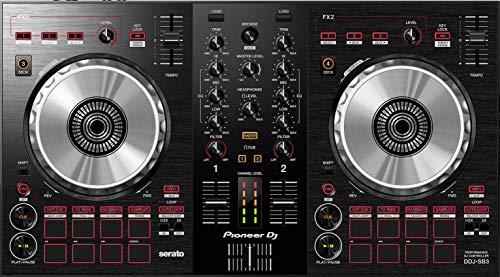 Pioneer DJ- driver, controlador Kit de DJ -Negro