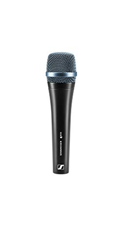 Sennheiser, Micrófono alámbrico (51 Db, 40-18000 Hz, 47 x 47 x 181 mm, 355g)