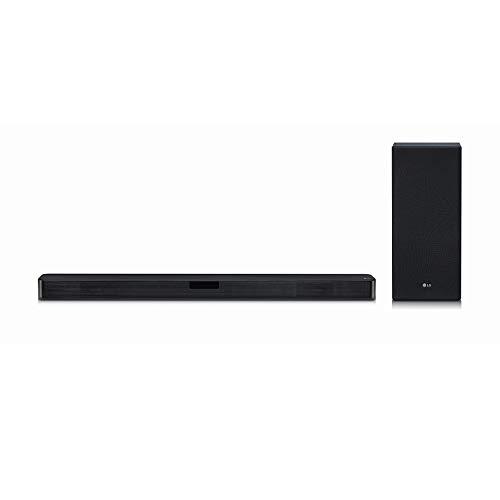 LG SL5Y 2.1 Channel High Resolution Sound Bar w/DTS Virtual: X, Negro