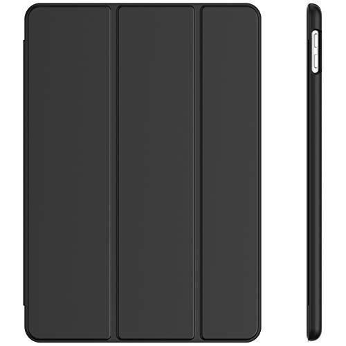 JETech Funda Compatible con iPad 9/8 / 7 (10,2 Pulgadas, 2021/2020 / 2019 Modelo, 9.ª/ 8.ª/ 7.ª Generación), Carcasa con Auto-Sueño/Estela, Negro