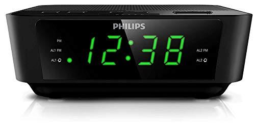 PHILIPS Radio Reloj AJ3116M/37 con sintonización Digital