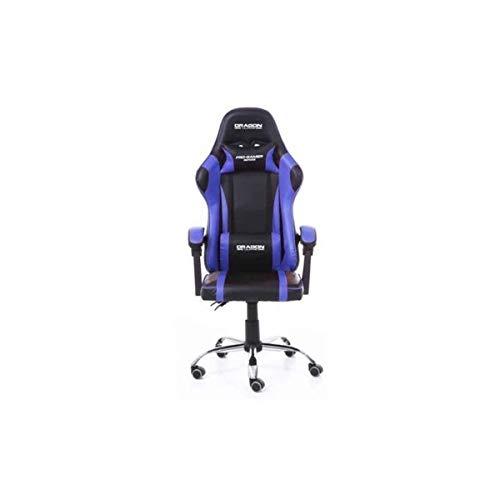 Silla Gamer Ergonómica Dragón XT Modelo Falkor Color Azul-Negro