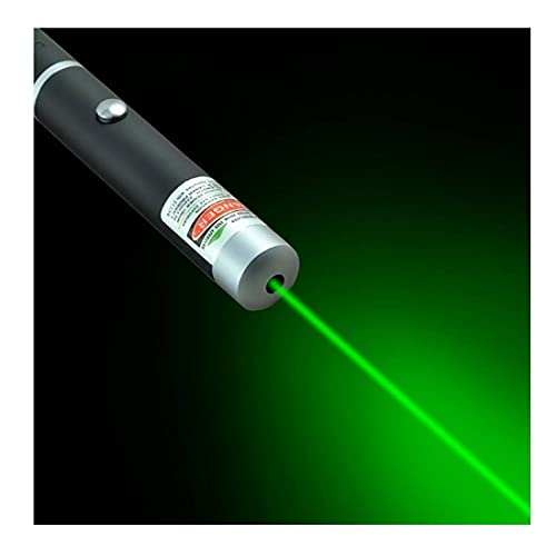 Liu Gato Juguete láser Vista Puntero de Alta Potencia Verde Azul Rojo Punto láser luz Pluma Pluma láser poderoso medidor Lazer Pluma,Green,Large
