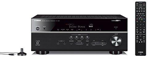 Yamaha RX-V685BL - Receptor AV 4K Ultra HD de 7,2 Canales con Wi-Fi Bluetooth y MusicCast, Color Negro