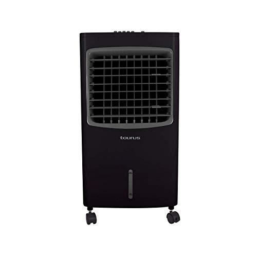 Taurus Storm Enfriador de Aire Evaporativo 7 L, 3 en 1 Enfría, Humidifica y Purifica el Aire, Grande, Negro