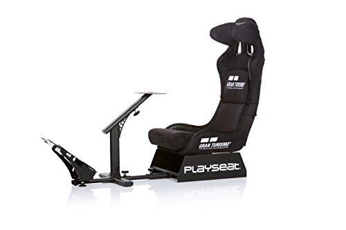 Playseat Asiento para Videojuegos, Modelo Gran Turismo, Negro - PlayStation 4 Standard Edition
