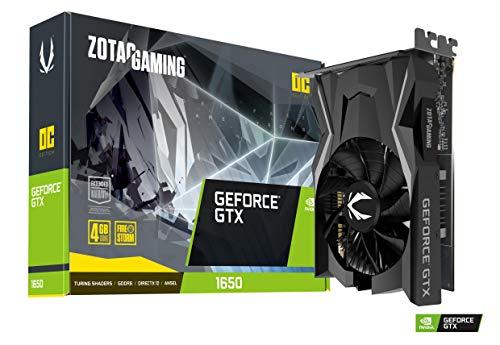 Zotac Gaming GeForce GTX 1650 4GB GDDR5 128 bits gráficos para Juegos, GTX 1650 OC GDDR6, Tarjeta Gráfica para juegos, Tarjeta de video, NVIDIA