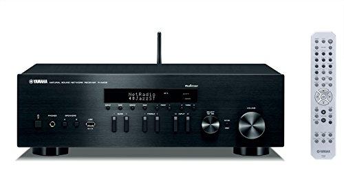 Yamaha RN402BL Receptor Estéreo Wi-Fi, Bluetooth, USB, Entrada TV/Blu-Ray