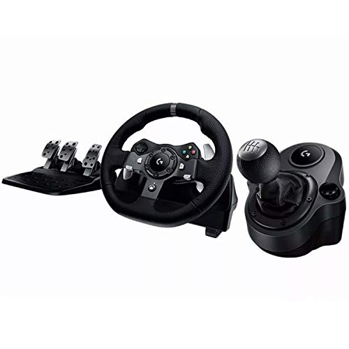 Kit LOGITECH Volante G920 + Palanca SHIFTER Xbox One/PC