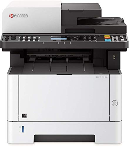 KYOCERA ECOSYS M2040dn Laser 40 ppm 1200 x 1200 DPI A4 - Impresora multifunción (Laser, Impresión en blanco y negro, 1200 x 1200 DPI, 250 hojas, A4, Negro, Blanco)