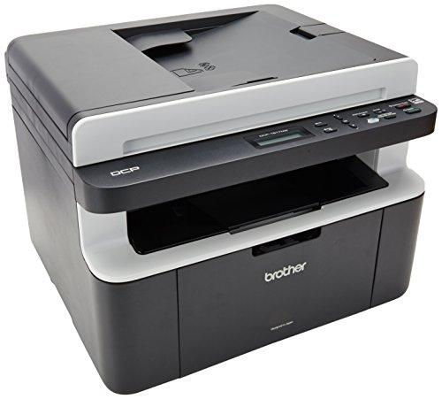 BROTHER DCP-1617NW Impresora Multifuncional Laser (monocromático, 10000 páginas por Mes, 2400 x 600 dpi, 32 MB), Color Negro
