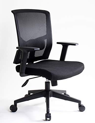 I SEATING Silla oficina ejecutiva con soporte lumbar ajustable en altura reclinable silla gamer sillas para escritorio silla ergonomica Caselli