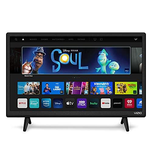 VIZIO Smart TV de 24 Pulgadas, televisión LED de la Serie D HDTV con Apple AirPlay y Chromecast incorporados y más de 150 Canales de transmisión Gratis (D24h-G9)