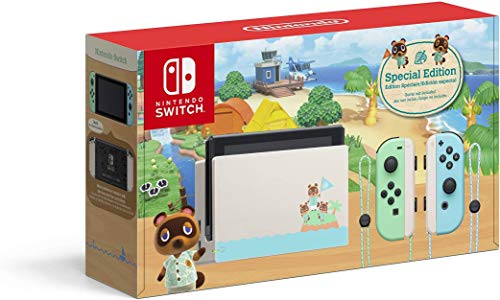 Nintendo Switch 1.1 Animal Crossing - Special Limited Edition