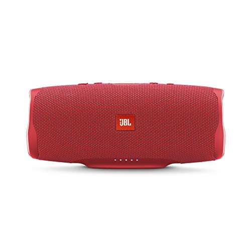 JBL Charge 4 Portable Bluetooth Speaker (Red)