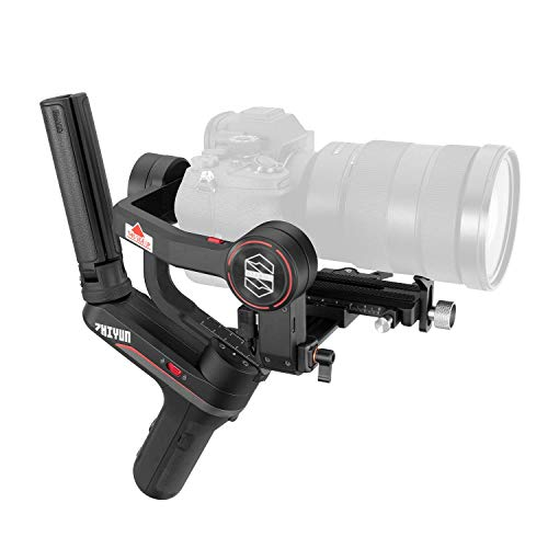 Zhiyun WEEBILL-S Gimbal Estabilizador para cámaras DSLR, cámaras sin Espejo con Lentes Combinados