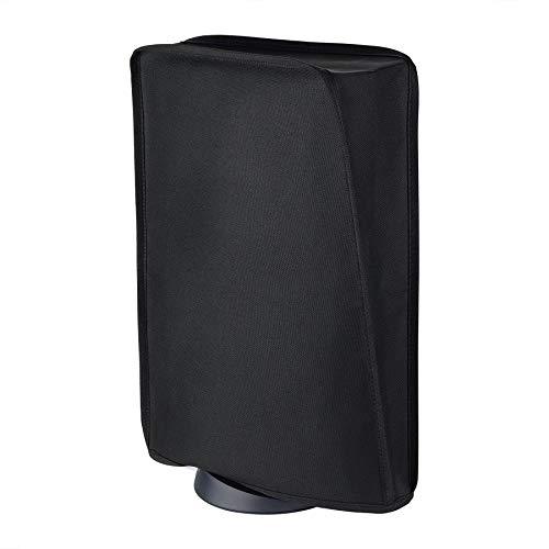 playvital Cubierta Prueba del Polvo para PS5 Funda contra Polvo Protectora Antipolvo Anti-Agua Diseño de Forro Suave Fácil Acceso para Playstation 5 Consola - Negro