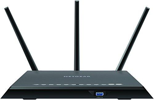 Netgear R7000P Nighthawk AC2300 - Router WiFi Inteligente de Doble Banda con MU-MIMO