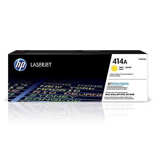 HP 414A Yellow Laserjet Toner Cartucho