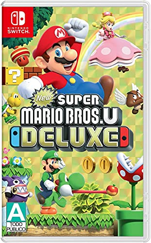 New Super Mario Bros. U Deluxe - Nintendo Switch - Standard Edition